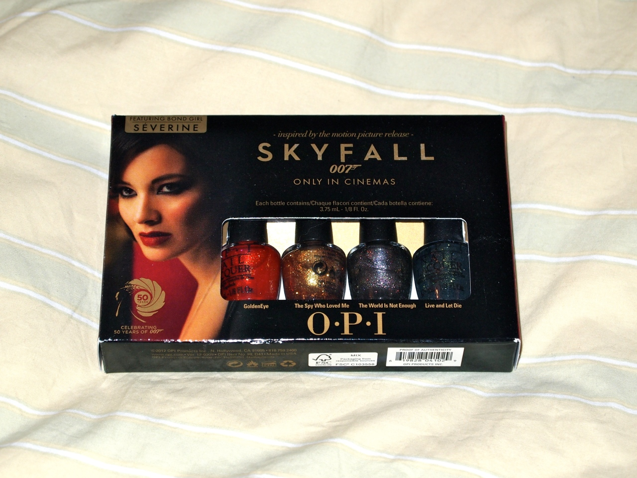 * OPI Skyfall Bondettes Collection £12.95 *