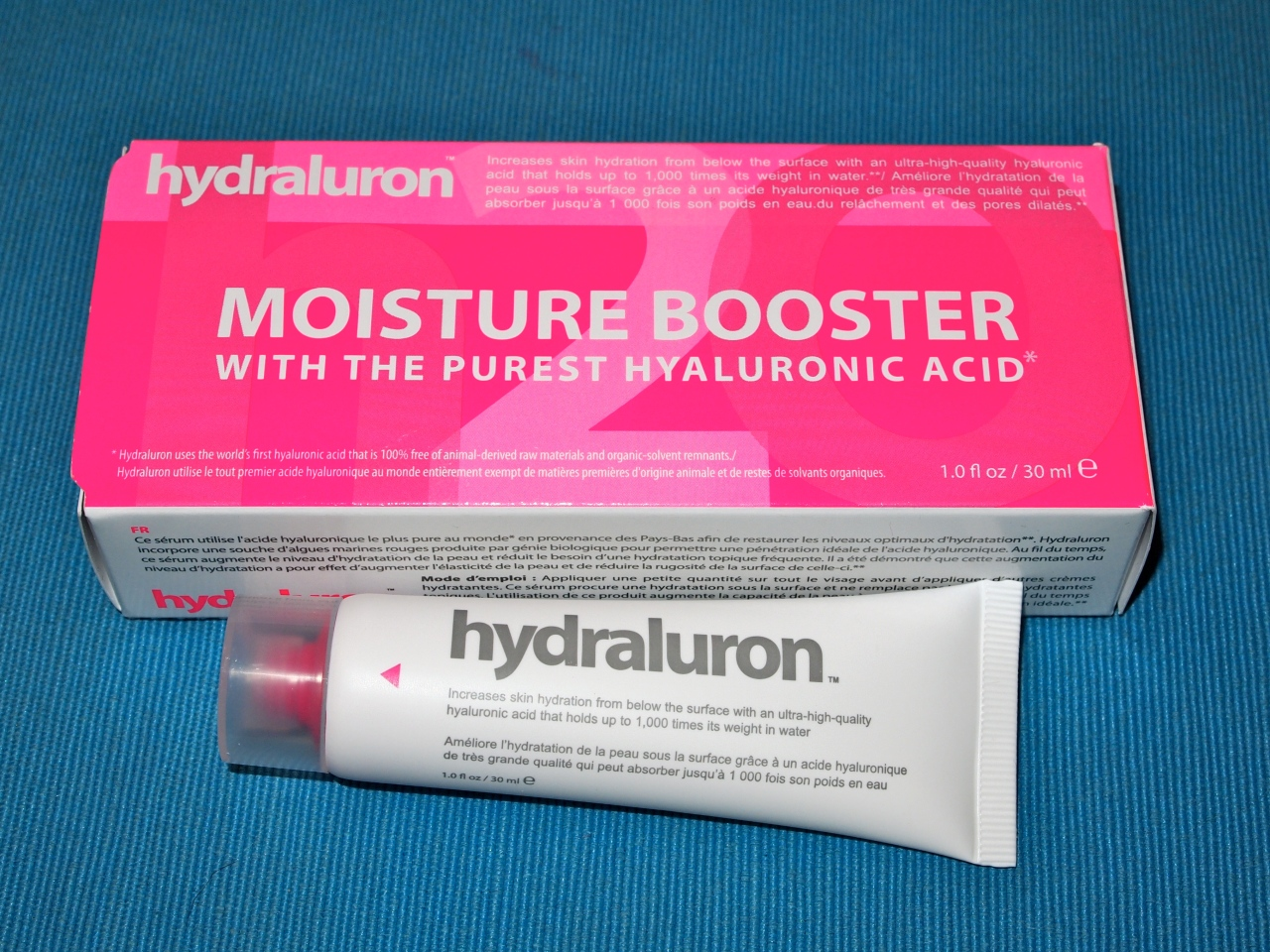 * c/o hydraluron moisture booster £24.99 *