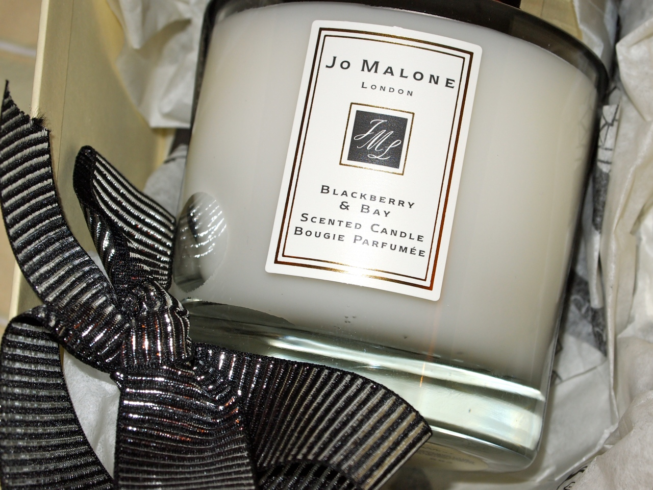 * jo malone blackberry & bay home candle £38 *