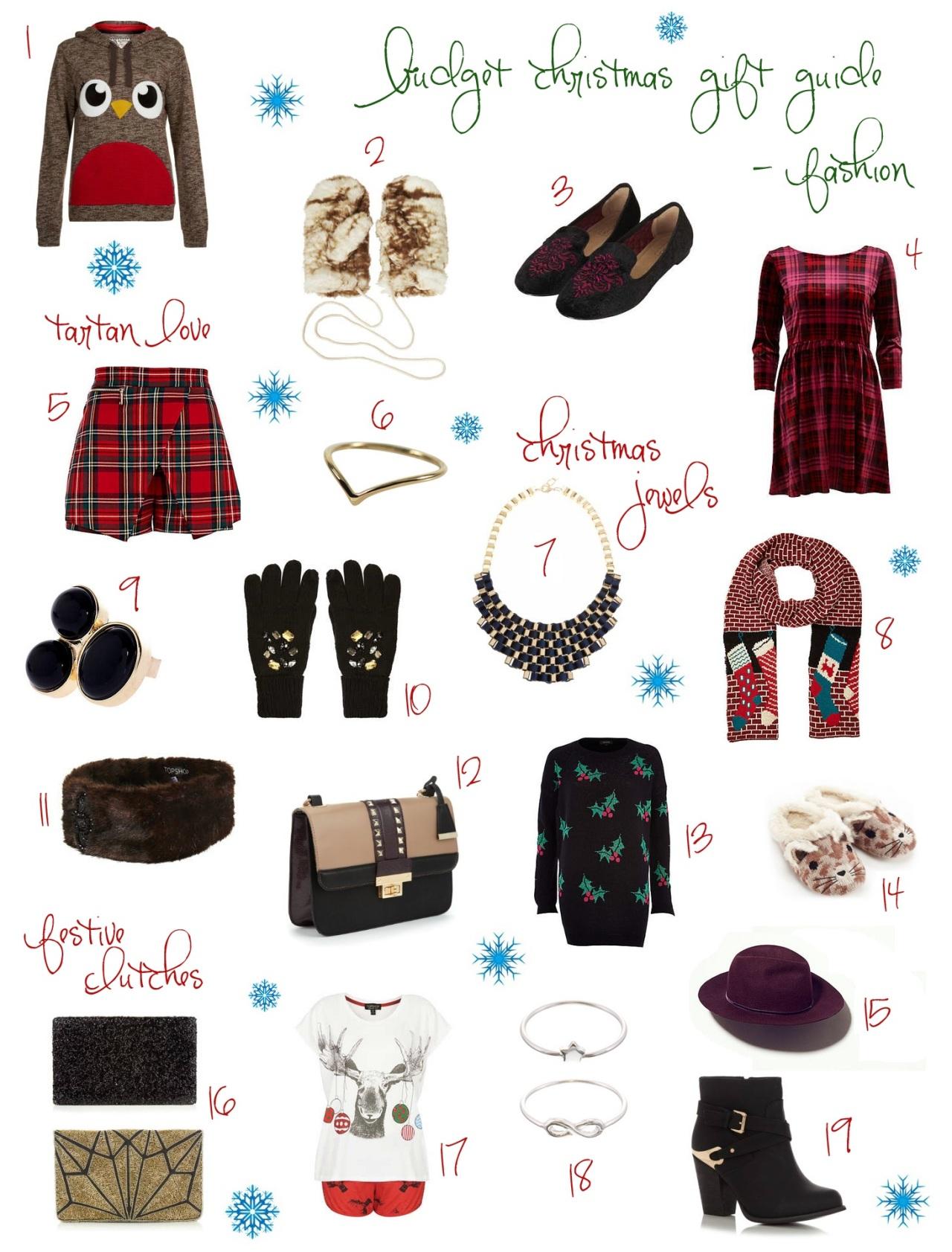 Christmas Budget Fashion